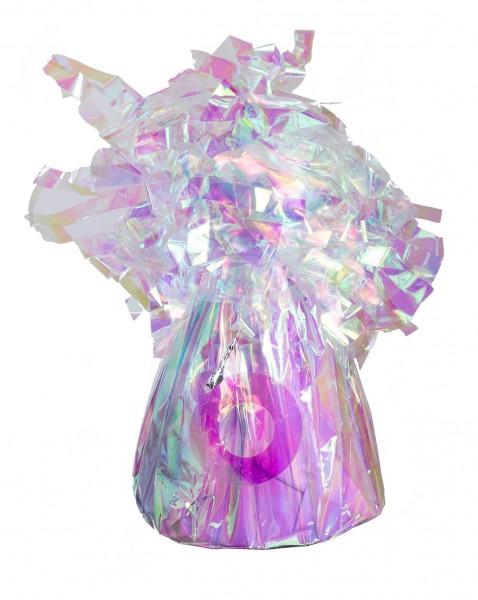 Ballongewicht Folie Irisierend 170g/6oz