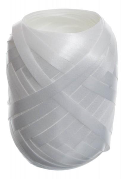 Polyband Eiknäuel, Weiß, 20m
