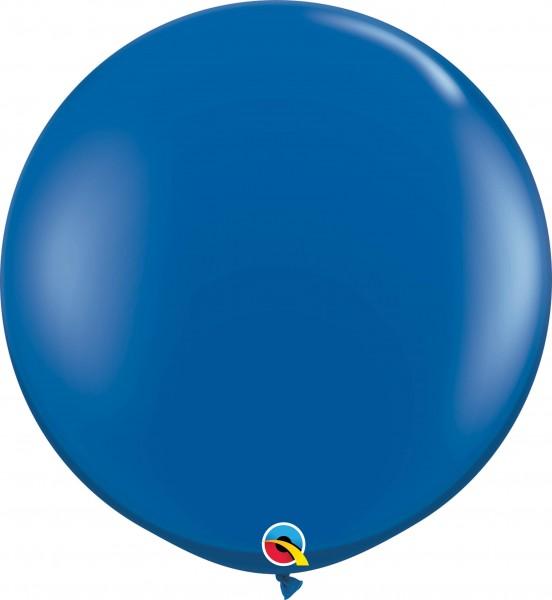 Qualatex Latexballon Jewel Sapphire Blue 90cm/3' 2 Stück
