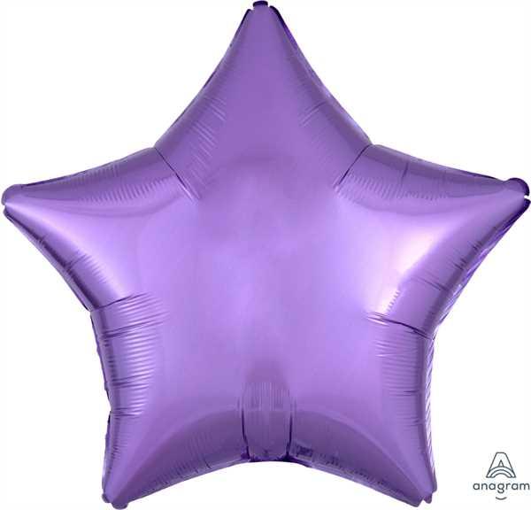"Anagram Folienballon Stern Pearl Lavendel (Pearl Lavender) 20"""