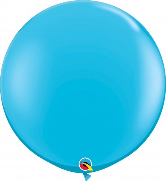 Qualatex Latexballon Fashion Robin´s Egg Blue 90cm/3' 2 Stück