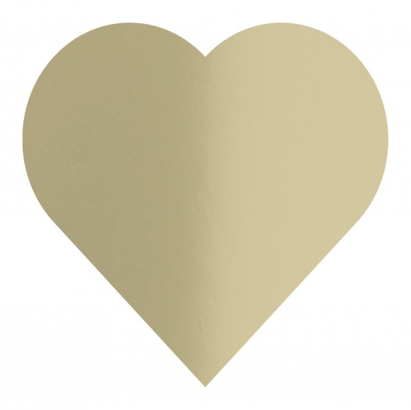 Goodtimes Folienkonfetti 3cm Herz 100g Satin Gold