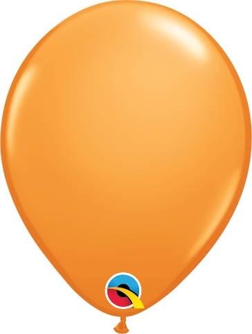 "Qualatex Latexballon Standard Orange 13cm/5"" 100 Stück"