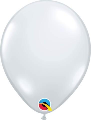 "Qualatex Latexballon Jewel Diamond Clear 13cm/5"" 100 Stück"