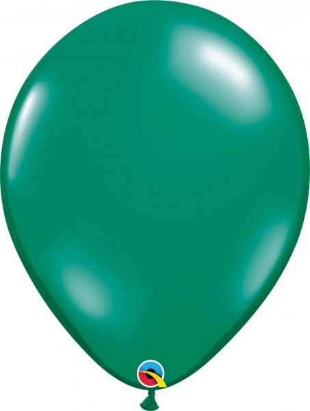 "Qualatex Latexballon Jewel Emerald Green 40cm/16"" 50 Stück"
