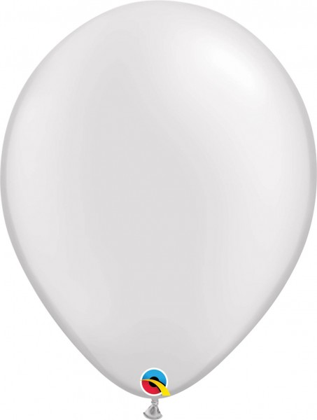 "Qualatex Latexballon Pastel Pearl White 40cm/16"" 50 Stück"