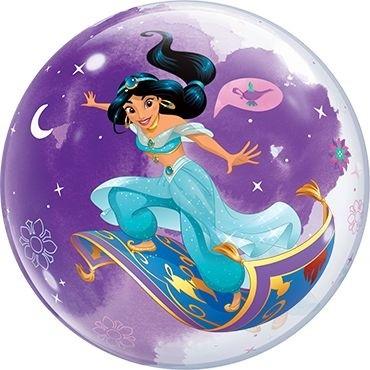 "Qualatex Bubbles Disney Princess Jasmine 55cm/22"""