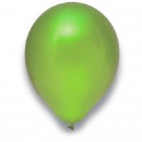 "Globos Luftballons Metallic Limonengrün Naturlatex 30cm/12"" 100er Packung"