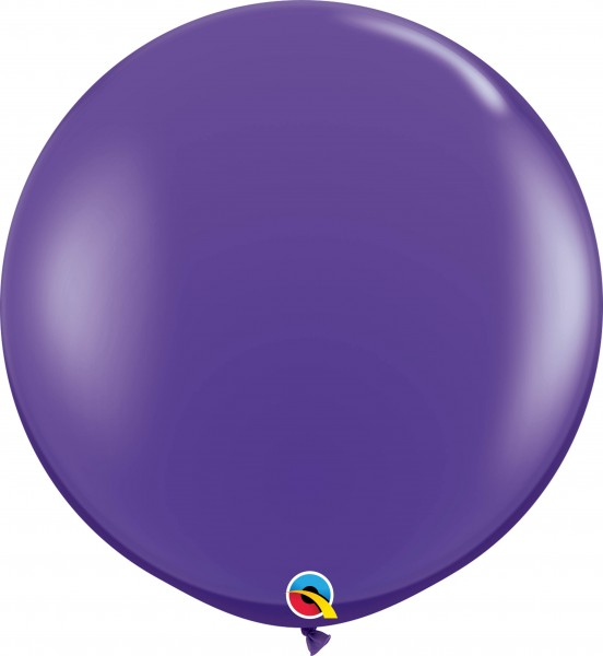 Qualatex Latexballon Fashion Purple Violet 90cm/3' 2 Stück
