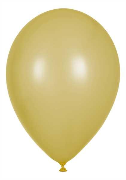 Perlmutt Luftballons, Creme, 30cm Ø, 100 Stück