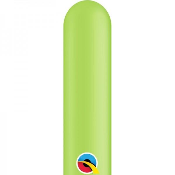 Qualatex Latexballon Entertainer Fashion Lime Green 260Q 100 Stück
