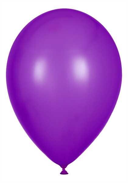 Kristall Luftballons, Lila, 30cm Ø, 100 Stück
