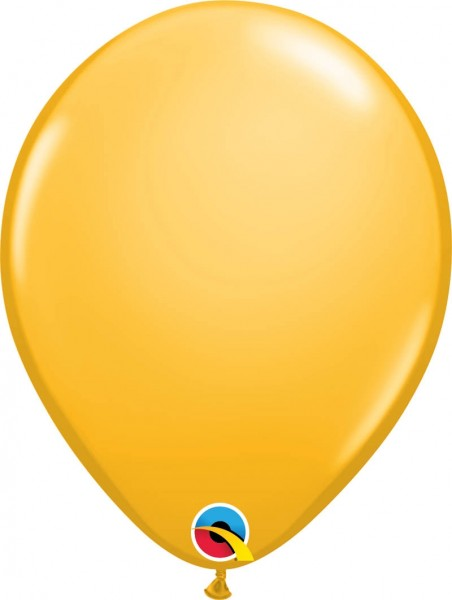 "Qualatex Latexballon Fashion Goldenrod 28cm/11"" 100 Stück"