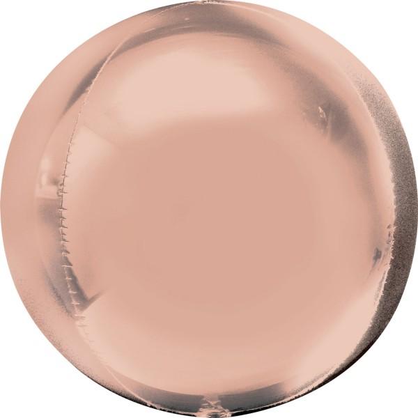 """Anagram Folienballon Orbz Rosegold 40cm/16"""""""