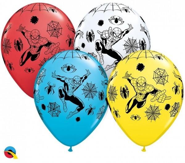 "Qualatex Latexballon MARVEL'S Spider-Man 28cm/11"" 25 Stück"