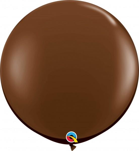 Qualatex Latexballon Fashion Chocolate Brown 90cm/3' 2 Stück