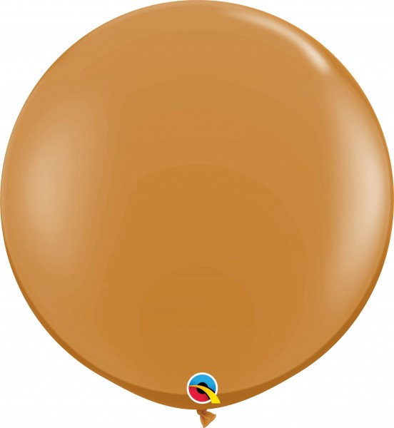 Qualatex Latexballon Fashion Mocha Brown 90cm/3' 2 Stück