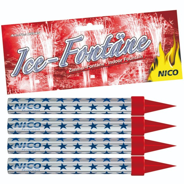 Nico Ice-Fontäne, ca. 50 Sekunden, 4er-Schachte