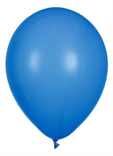 Latex Luftballons, Blau, 30cm Ø, 100 Stück