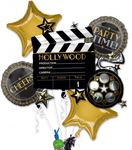 "Folienballon Helium Set ""Hollywood"""
