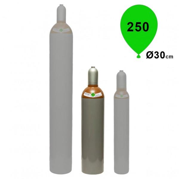 Ballongas Helium 20L Mietflasche 3,6m³