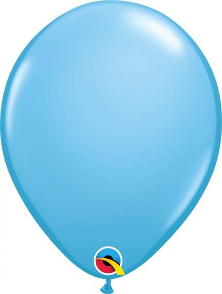 "Qualatex Latexballon Standard Pale Blue 28cm/11"" 100 Stück"