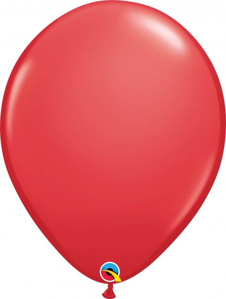 "Qualatex Latexballon Standard Red 40cm/16"" 50 Stück"