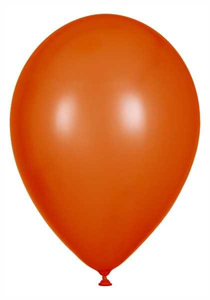 Kristall Luftballons, Orange, 30cm Ø, 100 Stück