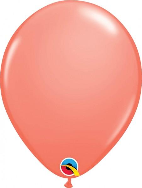"Qualatex Latexballon Fashion Coral 28cm/11"" 100 Stück"
