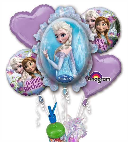 """Folienballon Helium Set """"Frozen - Die Eiskönigin Geburtstag"""""""