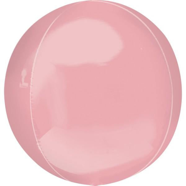 "Anagram Folienballon Orbz Pastel Pink 40cm/16"""