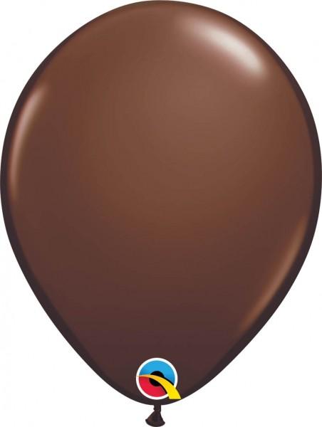 "Qualatex Latexballon Fashion Chocolate Brown 28cm/11"" 100 Stück"