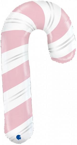 """Grabo Folienballon Pink Candy Cane 105cm/41"""""""