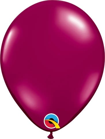 "Qualatex Latexballon Jewel Sparkling Burgundy 13cm/5"" 100 Stück"