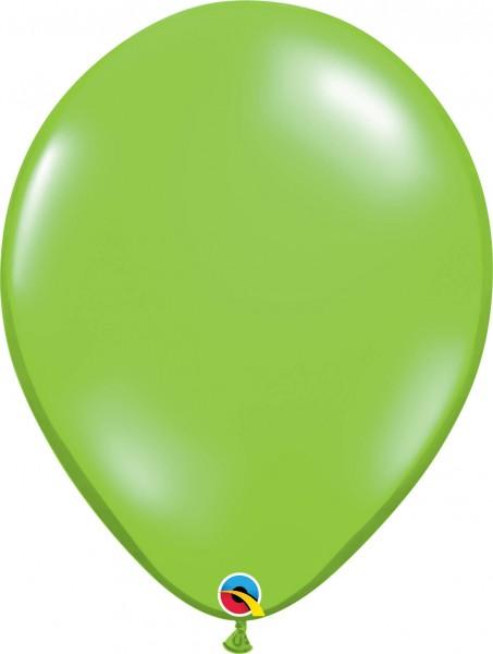 "Qualatex Latexballon Jewel Lime 40cm/16"" 50 Stück"