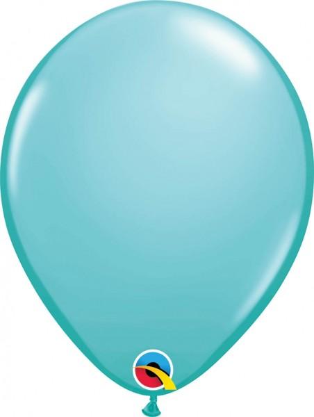 """Qualatex Latexballon Fashion Caribbean Blue 28cm/11"""" 100 Stück"""