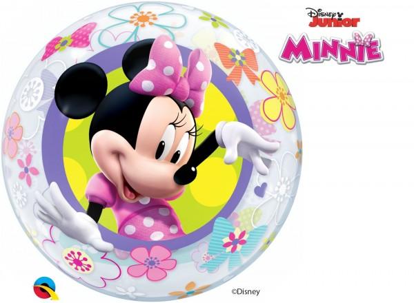 """Qualatex Bubbles Minnie Mouse Bow-Tique 56cm/22"""""""