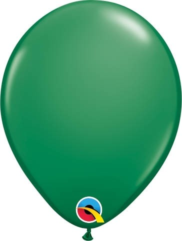 "Qualatex Latexballon Standard Green 13cm/5"" 100 Stück"