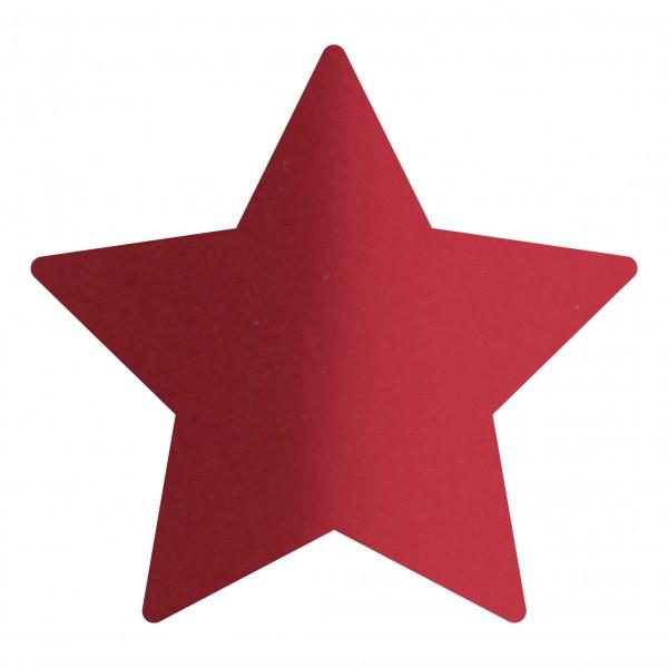 Goodtimes Folienkonfetti 1,7cm Stern 15g Satin Rot