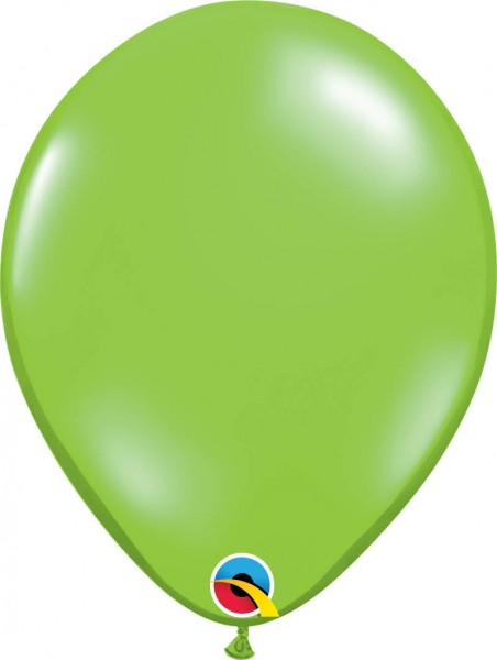 "Qualatex Latexballon Jewel Lime 28cm/11"" 100 Stück"