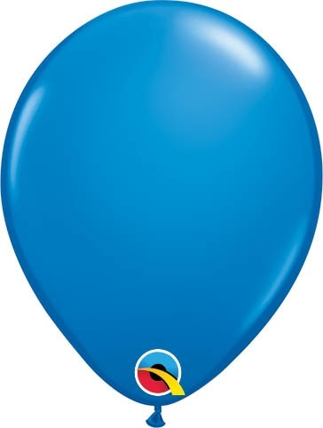 "Qualatex Latexballon Standard Dark Blue 13cm/5"" 100 Stück"
