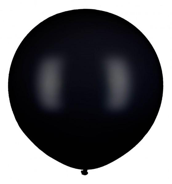 XXL Ballon, Schwarz, 210cm Ø