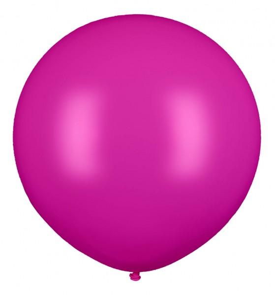 """Riesenluftballon 80cm/32"""" Pink"""
