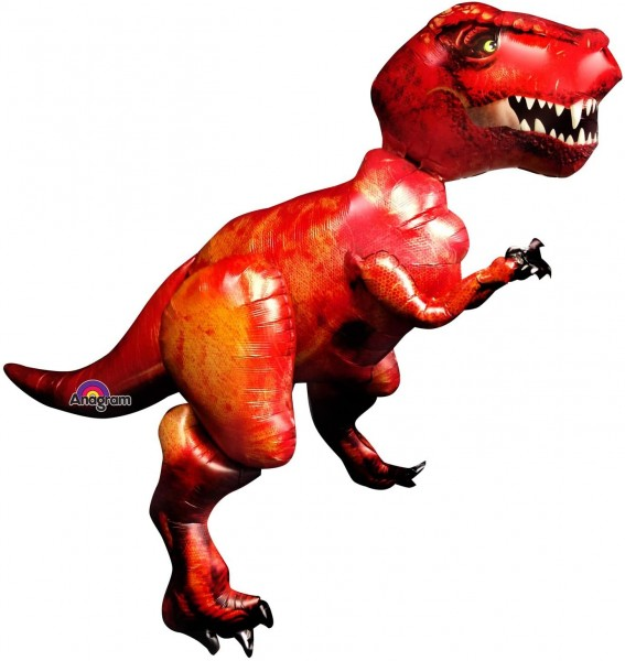 "Anagram Folienballon AirWalker Tyrannosaurus Rex 154cm / 61"""