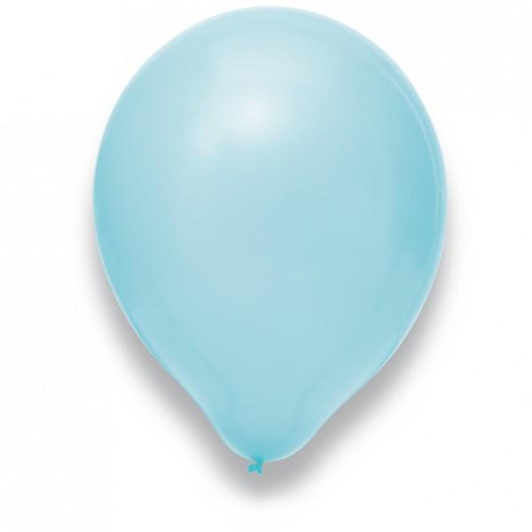 "Globos Luftballons Hellblau Naturlatex 30cm/12"" 100er Packung"