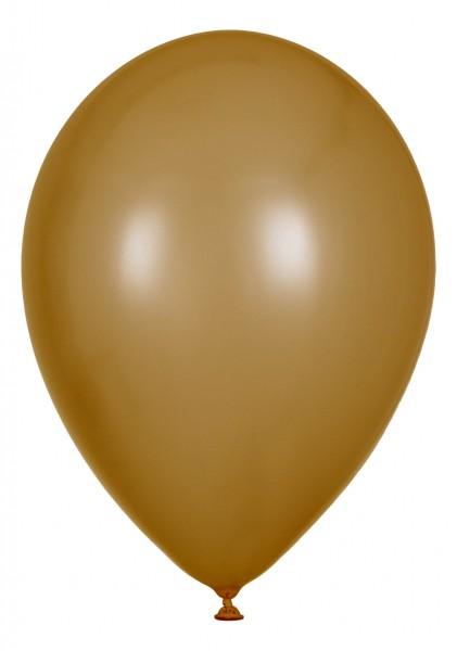 """Metallic Luftballons Gold 30cm/12"""" 100 Stück"""