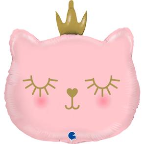 "Grabo Folienballon Cat Princess 65cm/26"""