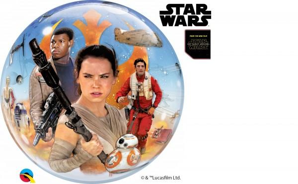 "Qualatex Bubbles Star Wars: The Force Awakens 56cm/22"""