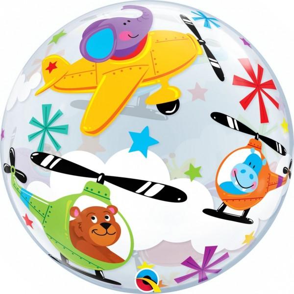 "Qualatex Bubbles Flying Circus 55cm/22"""