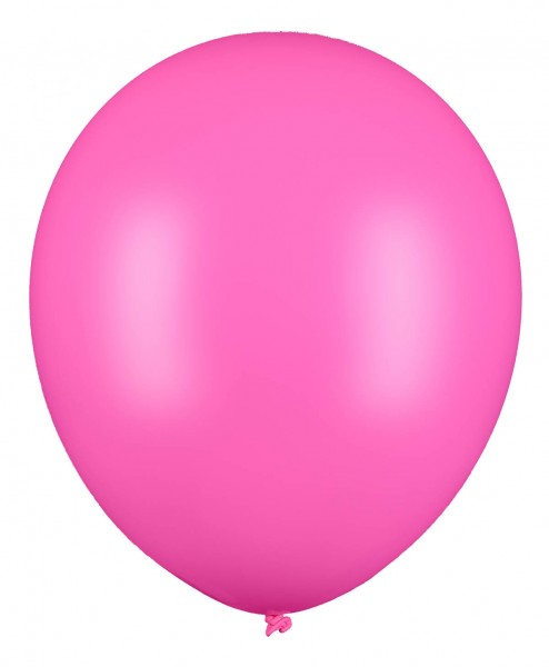 Riesenluftballon, Rosa, 60cm Ø